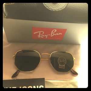 9b33c26b91 Ray-Ban Accessories - New Ray-Ban Hexagonal RB3548 Sunglasses Rb3548-N
